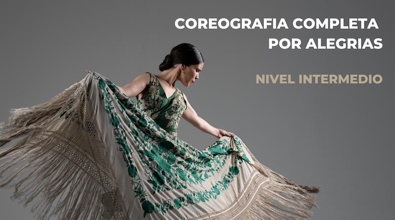 CURSO ONLINE COREOGRAFIA COMPLETA ALEGRIAS